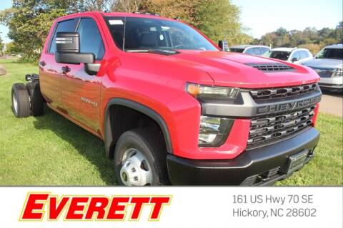 2020 Chevrolet Silverado 3500HD CC for sale at Everett Chevrolet Buick GMC in Hickory NC