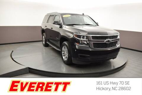 2015 Chevrolet Tahoe for sale at Everett Chevrolet Buick GMC in Hickory NC