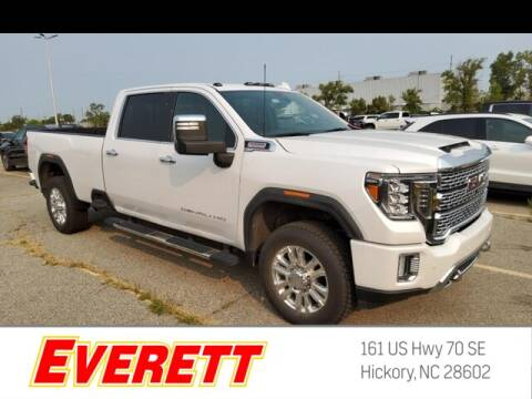 2020 GMC Sierra 3500HD for sale at Everett Chevrolet Buick GMC in Hickory NC