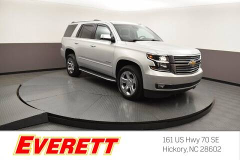 2016 Chevrolet Tahoe for sale at Everett Chevrolet Buick GMC in Hickory NC