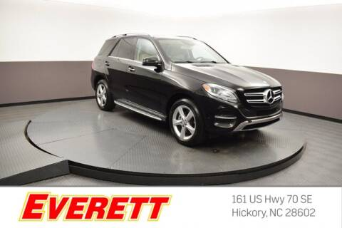 2017 Mercedes-Benz GLE for sale at Everett Chevrolet Buick GMC in Hickory NC
