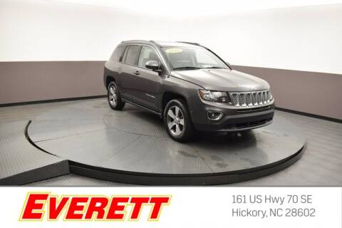 2016 Jeep Compass for sale at Everett Chevrolet Buick GMC in Hickory NC