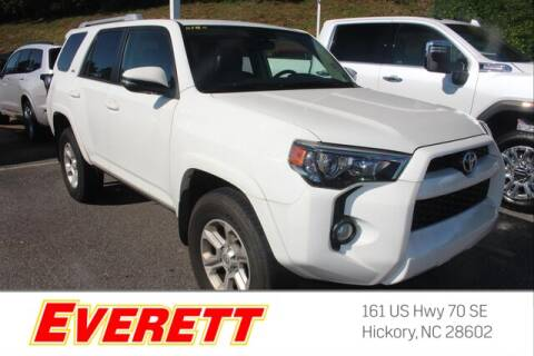 2018 Toyota 4Runner for sale at Everett Chevrolet Buick GMC in Hickory NC
