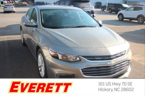 2018 Chevrolet Malibu for sale at Everett Chevrolet Buick GMC in Hickory NC