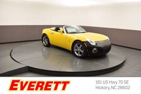 2007 Pontiac Solstice for sale at Everett Chevrolet Buick GMC in Hickory NC