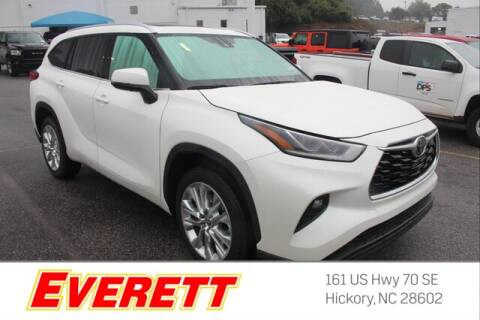 2020 Toyota Highlander for sale at Everett Chevrolet Buick GMC in Hickory NC