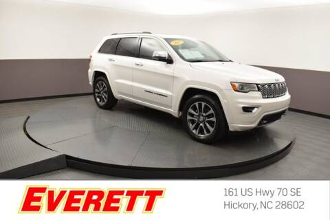 2017 Jeep Grand Cherokee for sale at Everett Chevrolet Buick GMC in Hickory NC