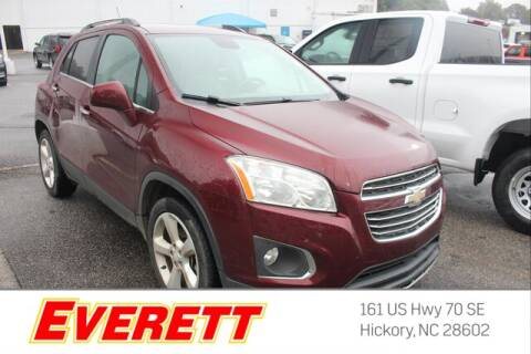 2016 Chevrolet Trax for sale at Everett Chevrolet Buick GMC in Hickory NC