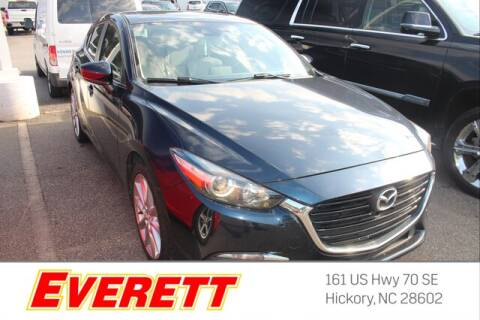 2017 Mazda MAZDA3 for sale at Everett Chevrolet Buick GMC in Hickory NC