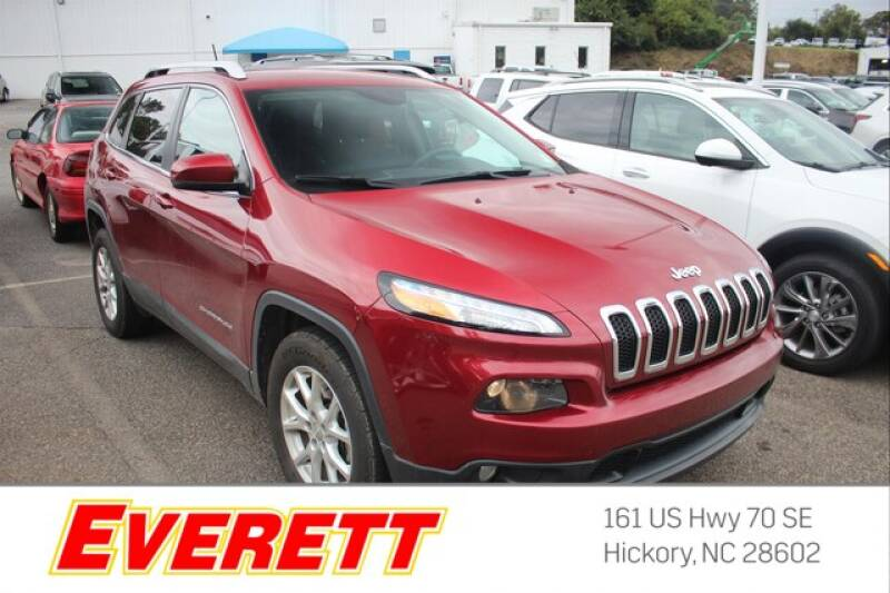 2015 Jeep Cherokee for sale at Everett Chevrolet Buick GMC in Hickory NC