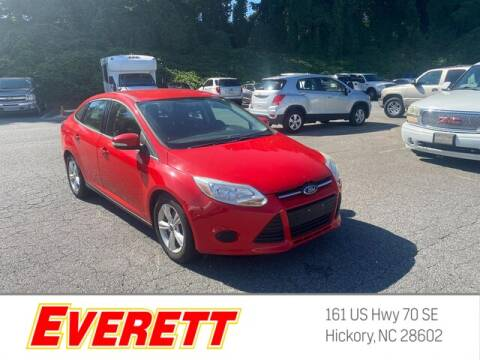 2013 Ford Focus for sale at Everett Chevrolet Buick GMC in Hickory NC
