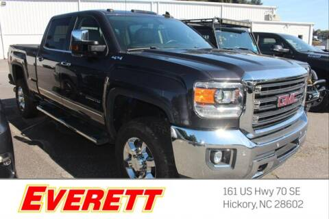 2016 GMC Sierra 2500HD for sale at Everett Chevrolet Buick GMC in Hickory NC