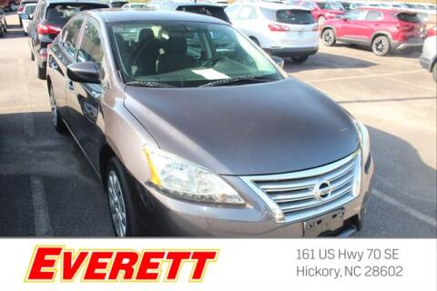 2015 Nissan Sentra for sale at Everett Chevrolet Buick GMC in Hickory NC