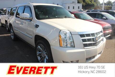2013 Cadillac Escalade ESV for sale at Everett Chevrolet Buick GMC in Hickory NC