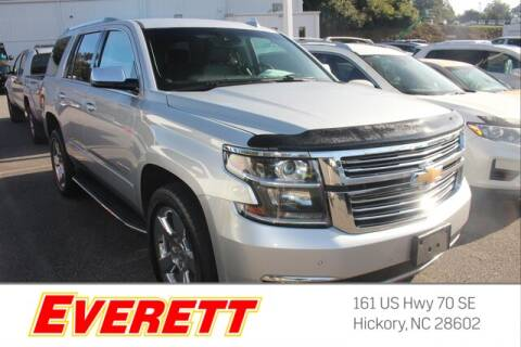 2017 Chevrolet Tahoe for sale at Everett Chevrolet Buick GMC in Hickory NC