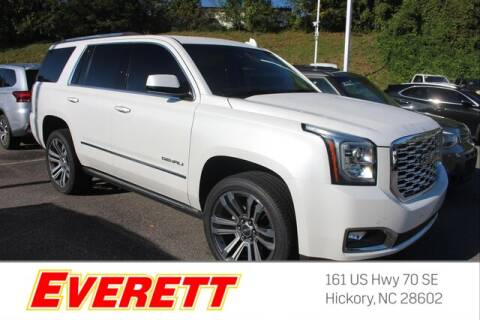 2019 GMC Yukon for sale at Everett Chevrolet Buick GMC in Hickory NC