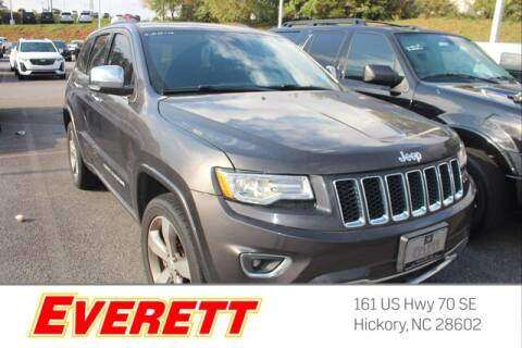 2015 Jeep Grand Cherokee for sale at Everett Chevrolet Buick GMC in Hickory NC