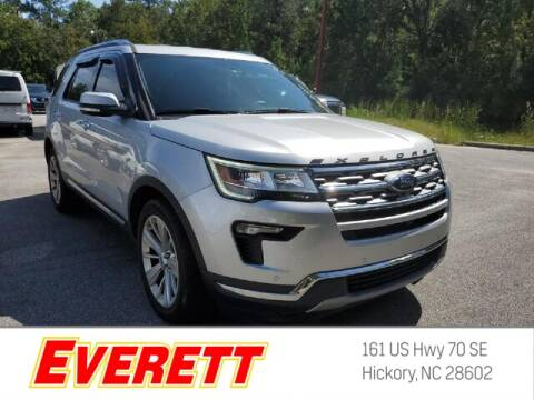 2019 Ford Explorer for sale at Everett Chevrolet Buick GMC in Hickory NC