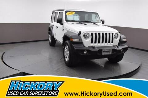 2018 Jeep Wrangler Unlimited for sale at Hickory Used Car Superstore in Hickory NC