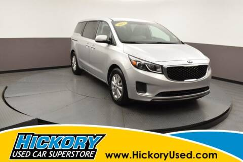 2017 Kia Sedona for sale at Hickory Used Car Superstore in Hickory NC