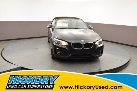 2015 BMW 2 Series for sale at Hickory Used Car Superstore in Hickory NC