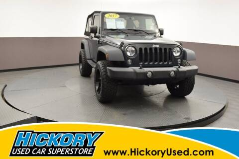 2017 Jeep Wrangler for sale at Hickory Used Car Superstore in Hickory NC