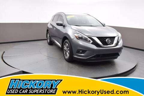2018 Nissan Murano for sale at Hickory Used Car Superstore in Hickory NC