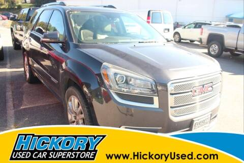 2016 GMC Acadia for sale at Hickory Used Car Superstore in Hickory NC