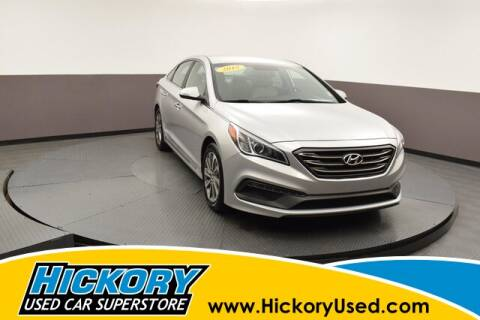 2015 Hyundai Sonata for sale at Hickory Used Car Superstore in Hickory NC