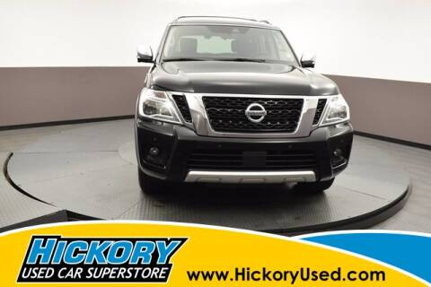 2018 Nissan Armada for sale at Hickory Used Car Superstore in Hickory NC