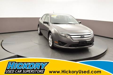 2012 Ford Fusion for sale at Hickory Used Car Superstore in Hickory NC