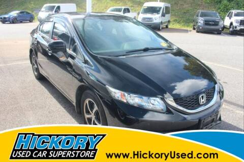 2015 Honda Civic for sale at Hickory Used Car Superstore in Hickory NC
