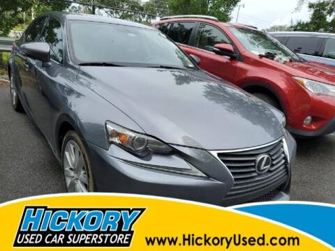 2015 Lexus IS 250 for sale at Hickory Used Car Superstore in Hickory NC
