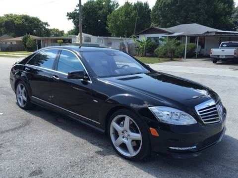 2012 Mercedes-Benz S-Class for sale at P J Auto Trading Inc in Orlando FL