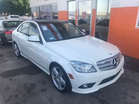 2008 Mercedes-Benz C-Class for sale at P J Auto Trading Inc in Orlando FL