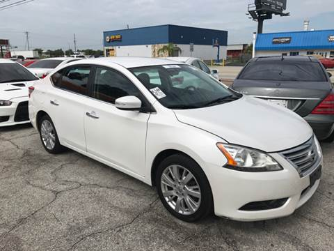 2013 Nissan Sentra for sale at P J Auto Trading Inc in Orlando FL