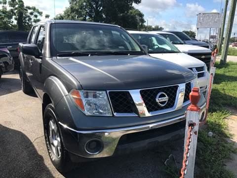 2008 Nissan Frontier for sale at P J Auto Trading Inc in Orlando FL