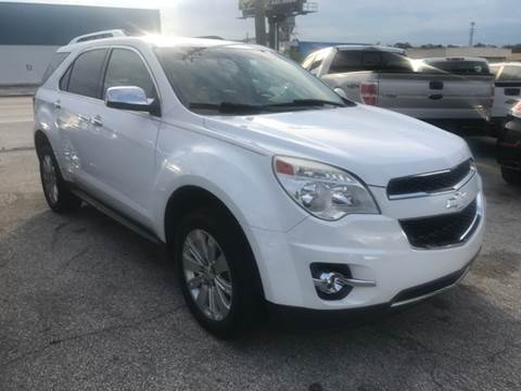 2010 Chevrolet Equinox for sale at P J Auto Trading Inc in Orlando FL
