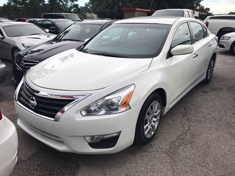 2014 Nissan Altima for sale at P J Auto Trading Inc in Orlando FL