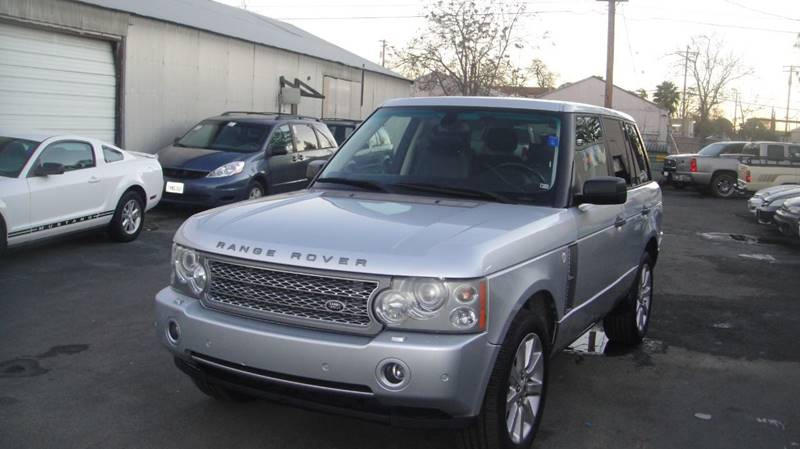 2007 Land Rover Range Rover Supercharged 4dr Suv 4wd In Sacramento