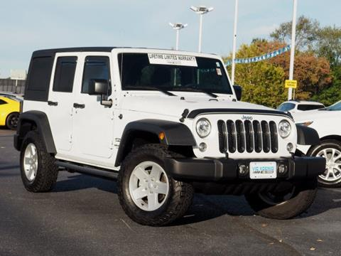 2017 Jeep Wrangler Unlimited for sale in Carbondale IL