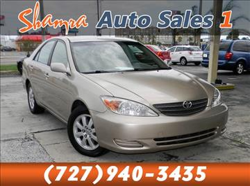 2002 Toyota Camry for sale in Holiday, FL