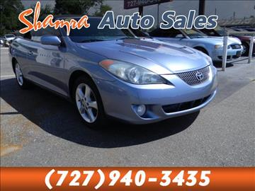 2006 Toyota Camry Solara for sale in Holiday, FL