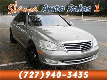 2007 Mercedes-Benz S-Class for sale in Holiday, FL