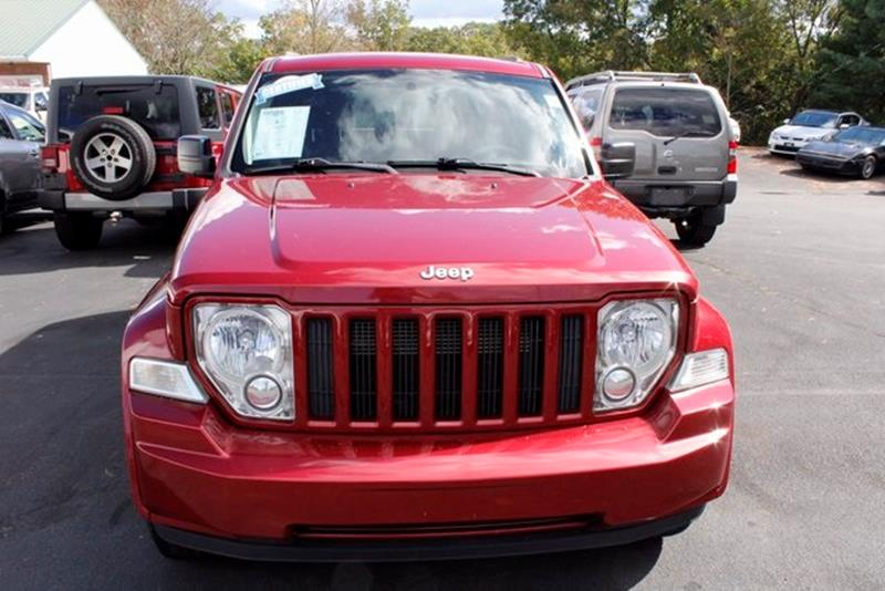 2012 JEEP LIBERTY SPORT 4X4 4DR SUV deep cherry red crystal pearlc 2012 jeep liberty sport deep c