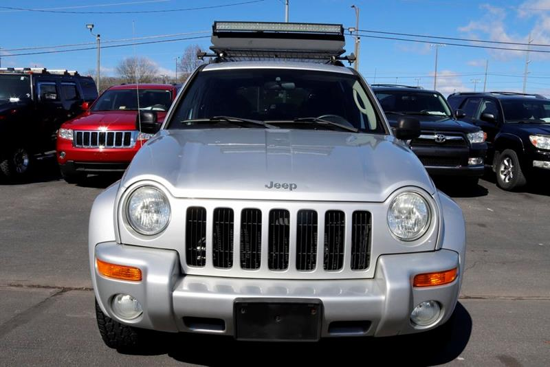 2004 JEEP LIBERTY LIMITED 4WD 4DR SUV bright silver metallic clearco 2004 jeep liberty limited br