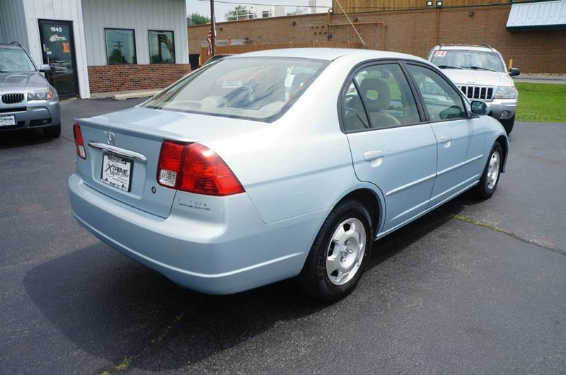 2003 honda civic hybrid 4dr sedan in addison il xtreme motor sales. Black Bedroom Furniture Sets. Home Design Ideas