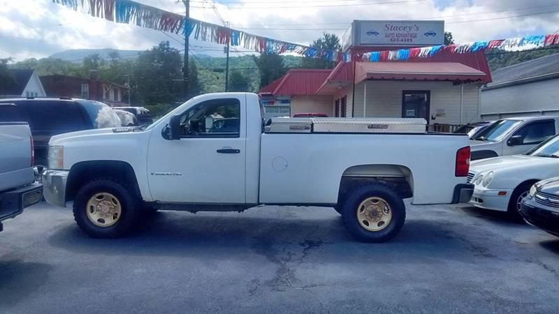 2008 Chevrolet Silverado 2500HD 4WD Work Truck 2dr Regular Cab LB - Abingdon VA