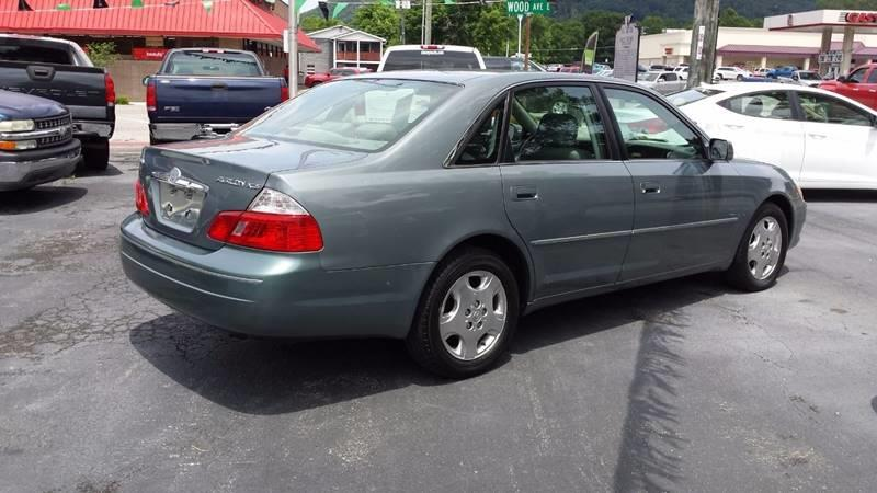 2004 Toyota Avalon XL 4dr Sedan w/Bucket Seats - Big Stone Gap VA