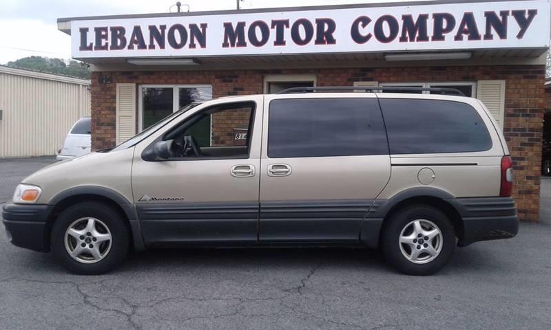 2005 Pontiac Montana 4dr Extended Mini-Van - Lebanon VA